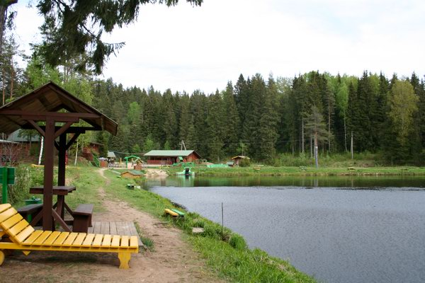сайт базы отдыха с рыбалкой