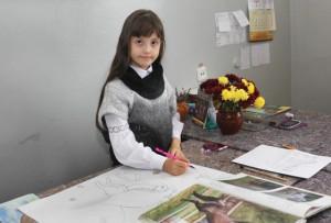 Верхнедвинская юная художница — в финале республиканского конкурса