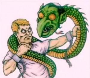 «Зялёны змій» зусім азвярэў