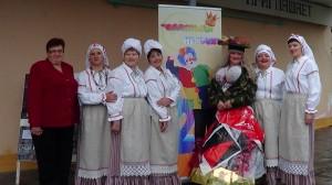 Верхнедвинские артисты на празднике «Смеяться не грех»
