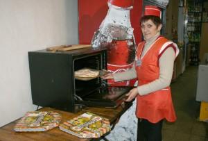 В Верхнедвинске можно заказать горячую пиццу