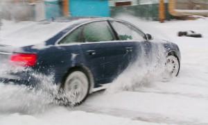Будьте внимательны на зимней дороге