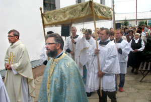 У Верхнядзвінскім касцёле адзначылі парафіяльнае свята