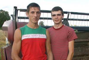 Александр Борсток и Дмитрий Панкрат.