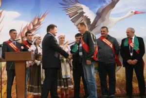 У Верхнядзвінскім раёне адбылося свята «Дажынкі-2014»