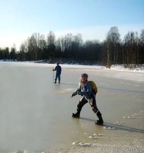 Выход на первый лёд опасен