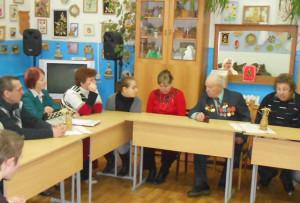 Ветеран рассказал молодёжи о трудовом прошлом