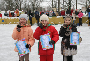 В Верхнедвинске прошёл праздник «Зима-2015»