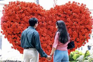 В День святого Валентина поздравляем любимых