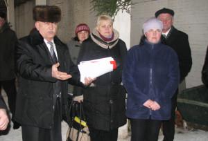 Директор СП «Кохановичи» А. З. Махмудов  рассказывает о своем хозяйстве.