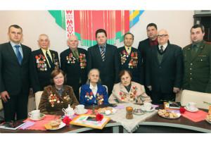 В Верхнедвинске ветеранам вручили юбилейные медали