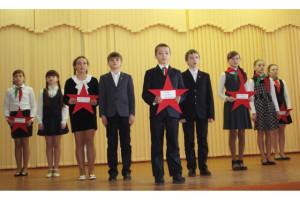 Агитбригада Освейской СШ заняла первое место в номинации  «Спасибо земляку-победителю!».