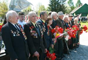 В Верхнедвинске широко отметили День Победы