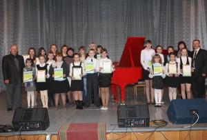 Юные пианисты показывают мастерство