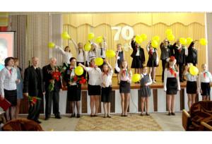 Районный пионерский сбор посвящался юбилею Победы