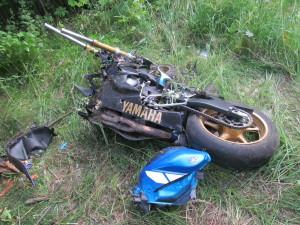 В ДТП в райцентре погиб мотоциклист