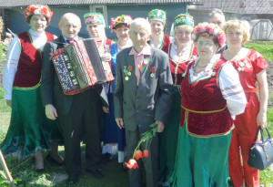 Коллектив ансамбля поздравляет ветерана Великой Отечественной войны Павла Александровича Белоуса.
