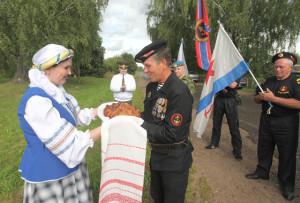В Верхнедвинске побывали ветераны-моряки Витебщины