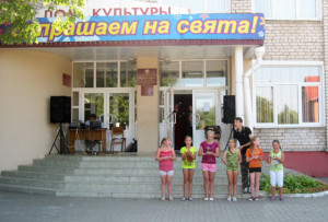 Детский коллектив Волынецкого СДК.