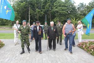 В Верхнедвинске отметили День десантников