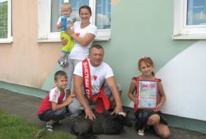 Пераможцай раённага этапа конкурсу «Уладар сяла-2015» стала сям'я з Антонава