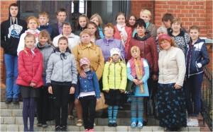 Приёмные семьи Верхнедвинского района со специалистами СПЦ.