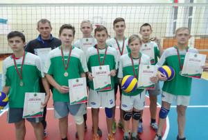 Верхнедвинские волейболисты в числе призёров областной спартакиады