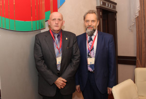 (Слева направо) Ю. В. Мамаев и А. А. Воробьёв.