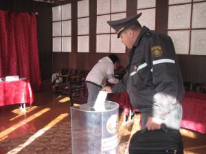 6 октября  началось досрочное голосование