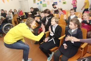 Волонтёры провели праздник для детей-инвалидов