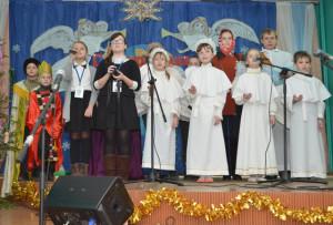 В Освее прошёл фестиваль «Рождественская звезда»