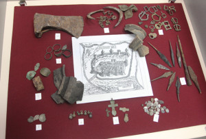 Старинные предметы, найденные  на территории нашего района.
