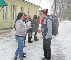 В Верхнедвинске прошли соревнования «Академия мужества»