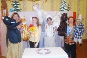 Театрализованное представление и кукольный спектакль «Колобок».