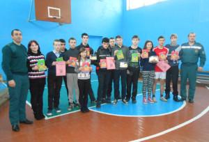 В Волынецкой школе действует класс МЧС