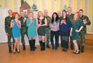 Участники конкурсной программы «Всё начинается с любви».