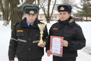 Спортивная команда Верхнедвинского РОВД победила на областных соревнованиях