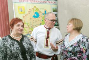 Ветераны отдела культуры Т. Ф. Суздаленко, А. Ф. Буболо, А. К. Гендик.