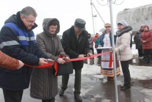 В Кохановичах открыт новый объект уличного газопровода