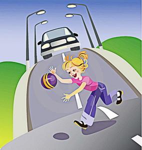 На время школьных каникул следует усилить внимание на дороге