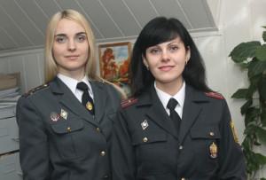 Ольга Лапковская и Ольга Ломач.