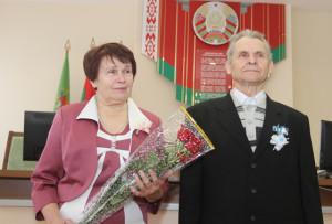 «Золотой юбилей» отметила супружеская пара из Боровки