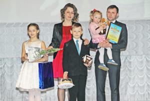 Семья Зубрицких.