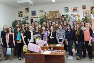 В Верхнедвинске побывали учащиеся и педагоги из Латвии