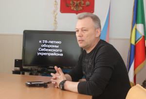 В. В. Бумаков рассказал  о работе поискового отряда.
