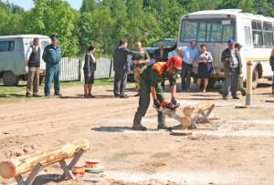 Участники поездки посетили Стрелковское лесничество.