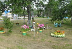 Жители Борковичского сельсовета наводят в деревнях образцовый порядок
