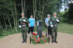 В Верхнедвинском районе открыт памятник пограничнику