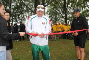 В Верхнедвинске открыта новая спортивная площадка