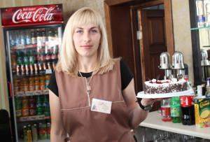 Новое рабочее место бармена создано в кофейне «Кофемания». Его выбрала В. С. Аниськович.